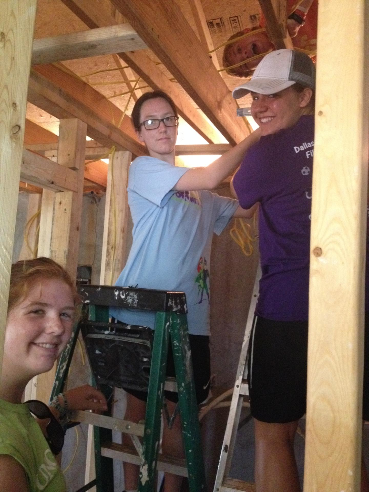 The St. Peter Youth Group Takes a Mission Trip Each Summer